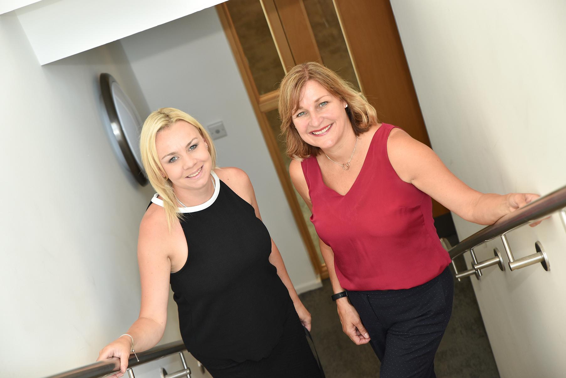 Jeanette and Liv of Berryrowan recruitment